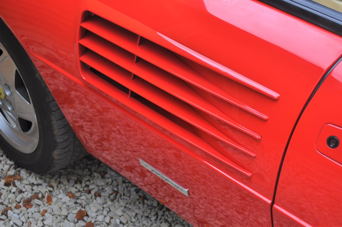 1990 Ferrari Mondial 3.4 T- 21,000 miles from new For Sale (picture 7 of 8)