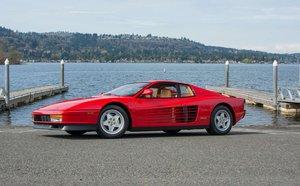 1990 Ferrari Testarossa = clean Red(~)Tan 8.1k miles $169k For Sale