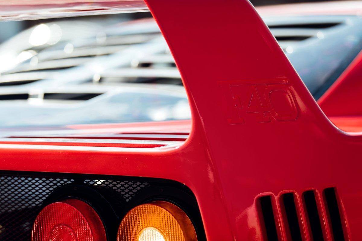 1989 Ferrari F40 | Non Cat, Non Adjust For Sale (picture 6 of 6)