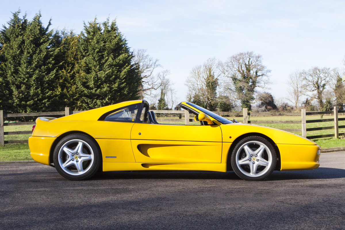 1995 Ferrari F355 GTS Manual For Sale (picture 4 of 6)