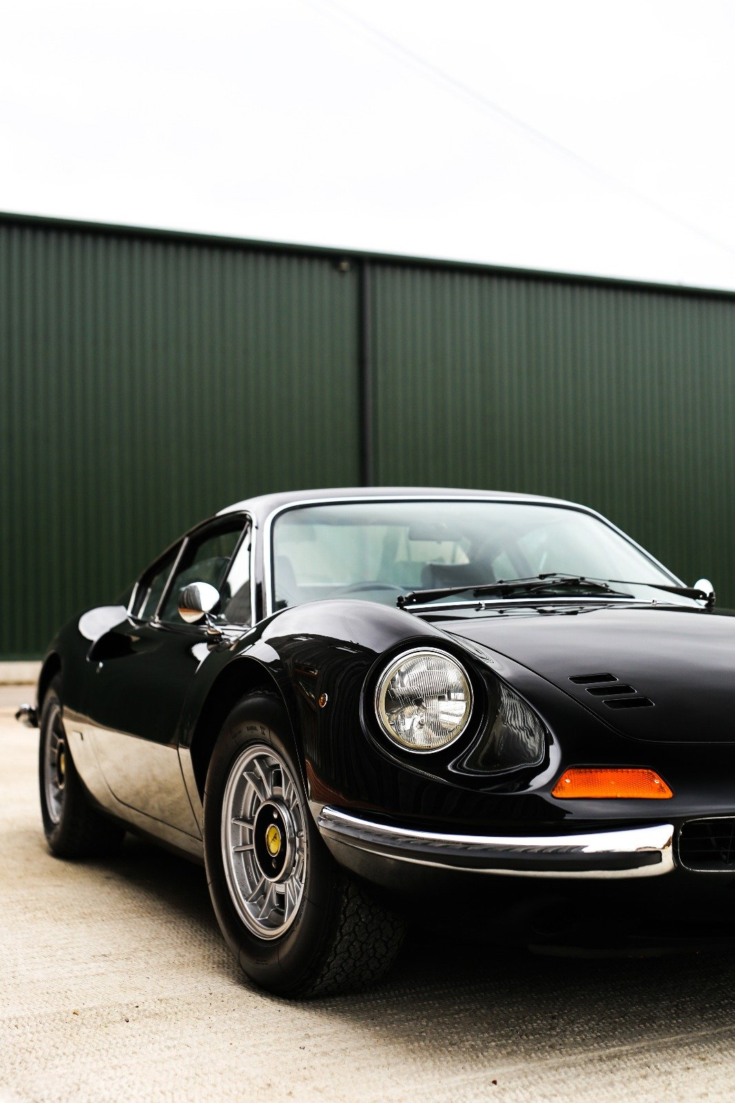 1974 Ferrari 246 GT 'Dino' UK RHD (Nero Black 1 of 63) For Sale (picture 1 of 6)