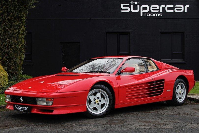 Ferrari Testarossa - 1991 - RHD - Rosso/Crema - Tubi Exhaust For Sale (picture 1 of 6)
