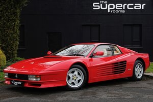 Ferrari Testarossa - 1991 - RHD - Rosso/Crema - Tubi Exhaust For Sale