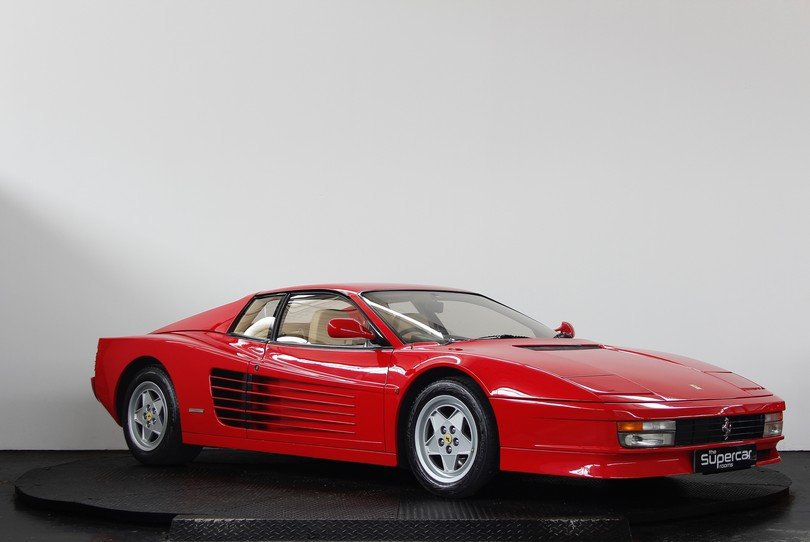 Ferrari Testarossa - 1991 - RHD - Rosso/Crema - Tubi Exhaust For Sale (picture 2 of 6)