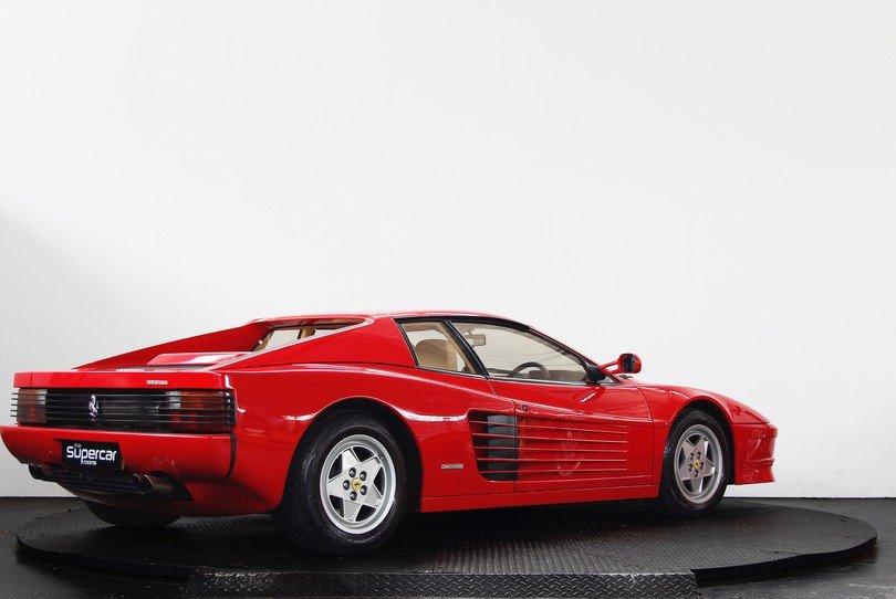 Ferrari Testarossa - 1991 - RHD - Rosso/Crema - Tubi Exhaust For Sale (picture 3 of 6)
