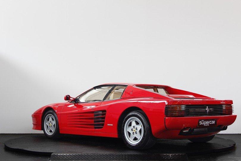 Ferrari Testarossa - 1991 - RHD - Rosso/Crema - Tubi Exhaust For Sale (picture 4 of 6)