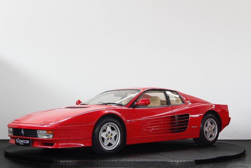 Ferrari Testarossa - 1991 - RHD - Rosso/Crema - Tubi Exhaust For Sale (picture 5 of 6)
