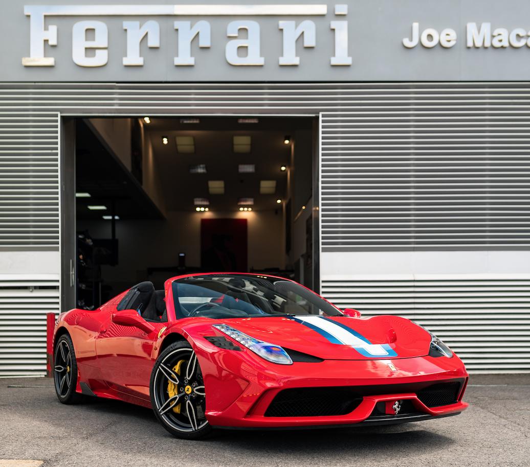 Ferrari 458: 2015 FERRARI 458 SPECIALE APERTA RHD For Sale