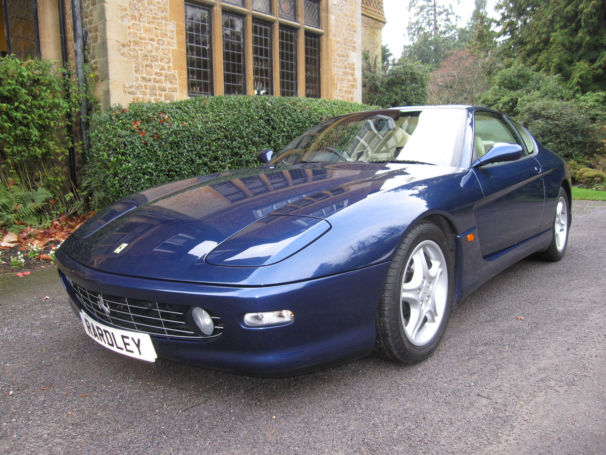 1999 Ferrari 456 M GTAutomatic with just 19,000 miles For Sale (picture 1 of 6)