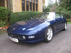 1999 SOLD-ANOTHERFerrari 456 M GTAutomatic with just 19,000 miles For Sale