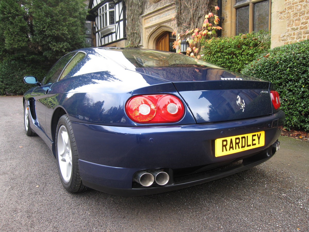 1999 Ferrari 456 M GTAutomatic with just 19,000 miles For Sale (picture 3 of 6)