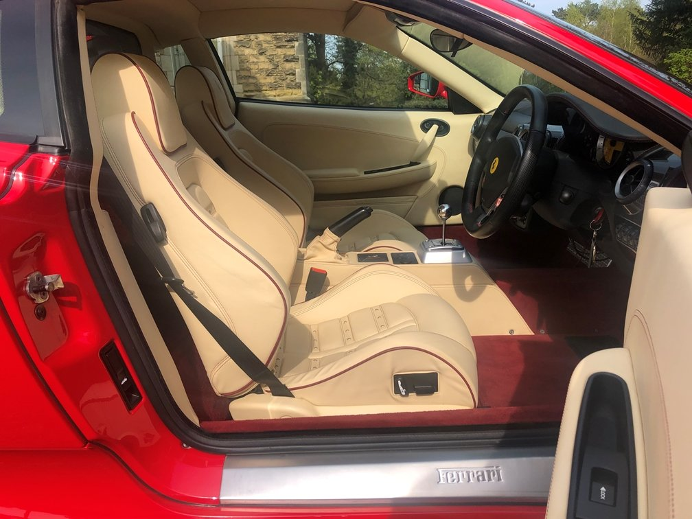 2006 Ferrari F430 manual RHD 14kmiles in immaculate condition SOLD (picture 5 of 6)
