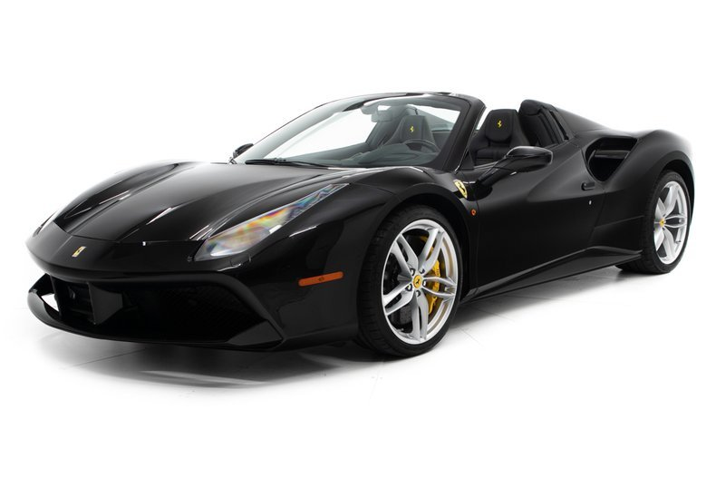 2018 Ferrari 488 Spider F1 = All Black low 1.1k miles $2.9k For Sale (picture 1 of 6)
