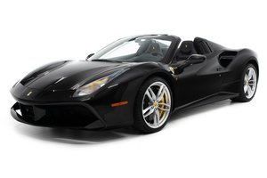 2018 Ferrari 488 Spider F1 = All Black low 1.1k miles $2.9k For Sale