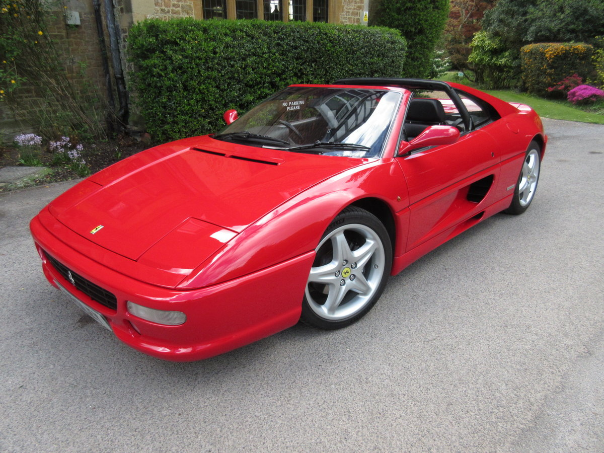 1997 SOLD-ANOTHER REQUIRED Ferrari 355 GTS manual For Sale (picture 1 of 6)