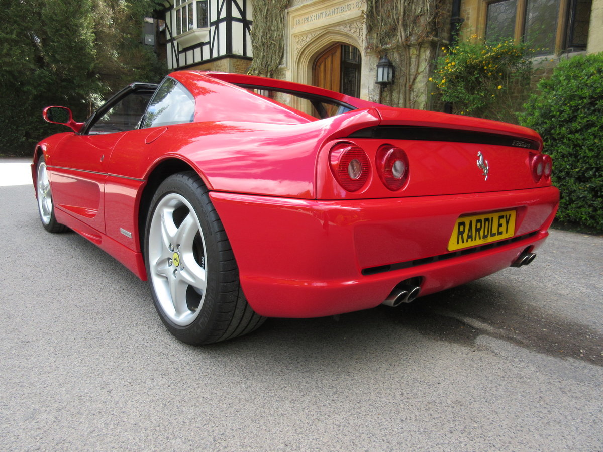 1997 SOLD-ANOTHER REQUIRED Ferrari 355 GTS manual For Sale (picture 3 of 6)