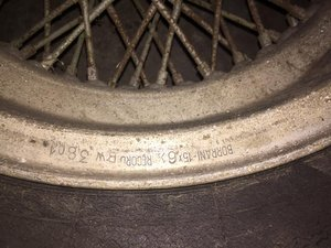 Original Borrani wheels 2 available For Sale