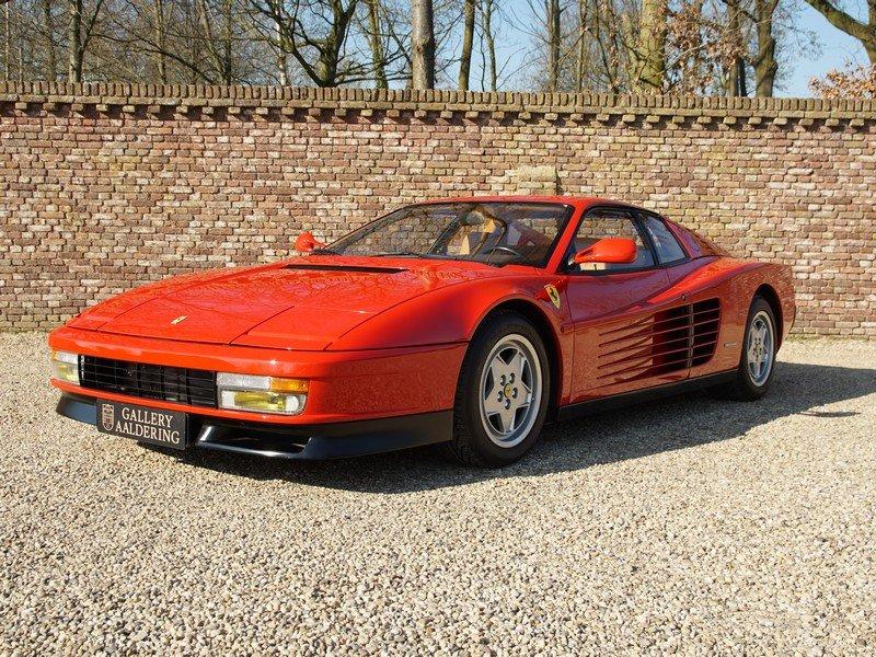 1991 Ferrari Testarossa only 46.761 km For Sale (picture 1 of 6)