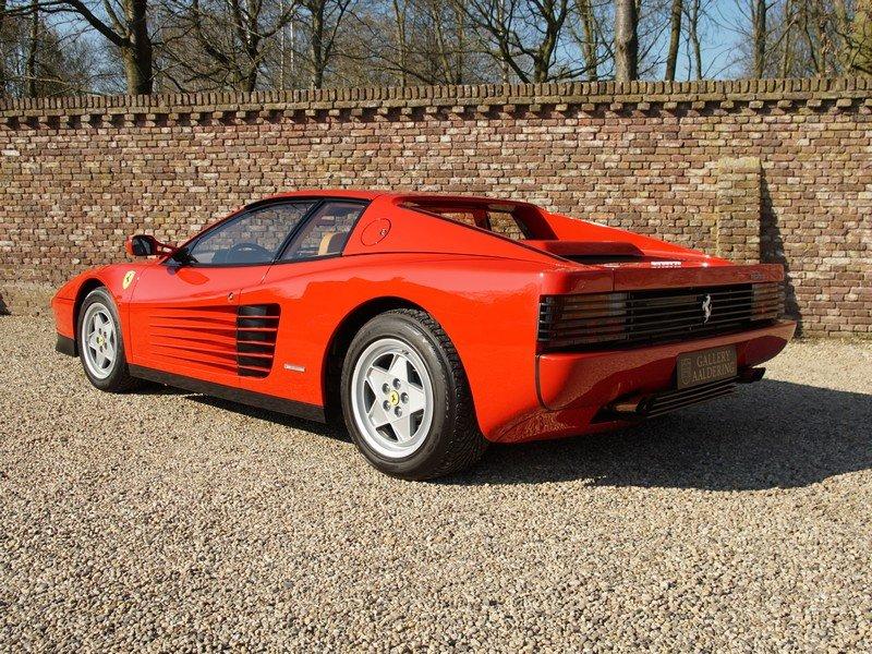 1991 Ferrari Testarossa only 46.761 km For Sale (picture 2 of 6)