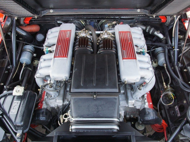 1991 Ferrari Testarossa only 46.761 km For Sale (picture 4 of 6)