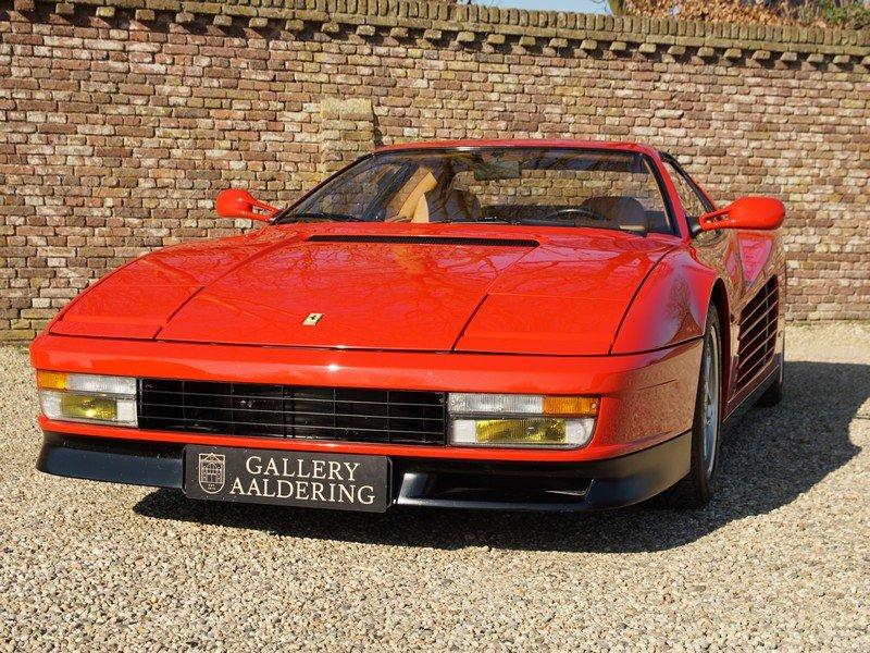 1991 Ferrari Testarossa only 46.761 km For Sale (picture 5 of 6)
