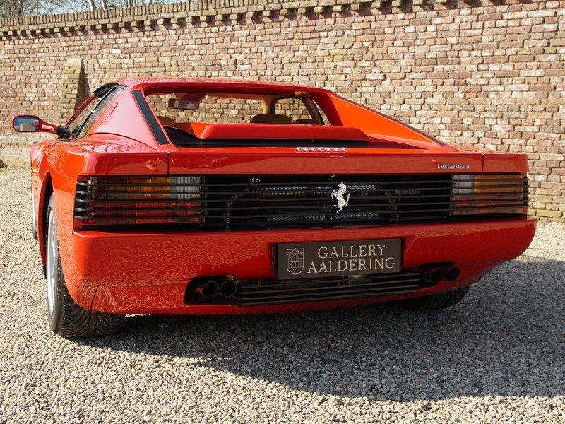 1991 Ferrari Testarossa only 46.761 km For Sale (picture 6 of 6)