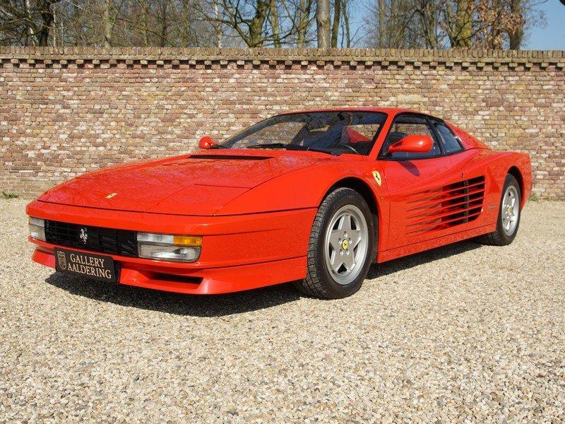 1988 Ferrari Testarossa only 45.000 km For Sale (picture 1 of 6)