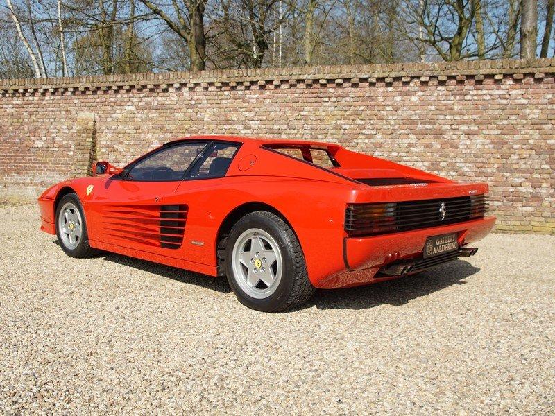 1988 Ferrari Testarossa only 45.000 km For Sale (picture 2 of 6)