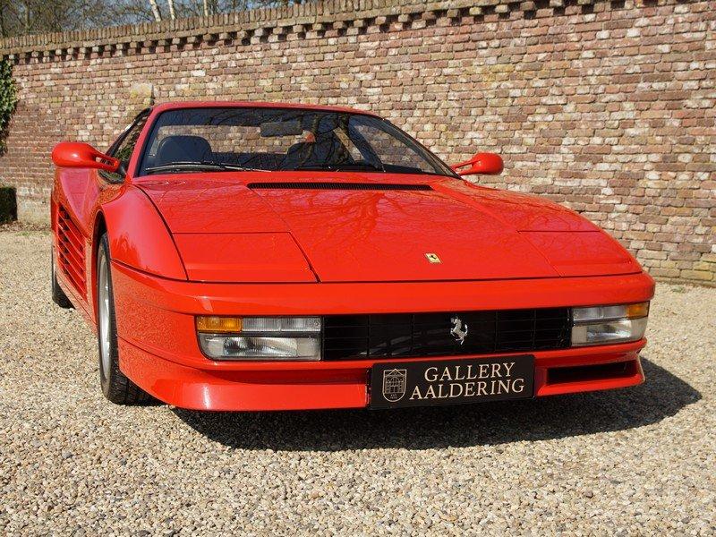 1988 Ferrari Testarossa only 45.000 km For Sale (picture 5 of 6)