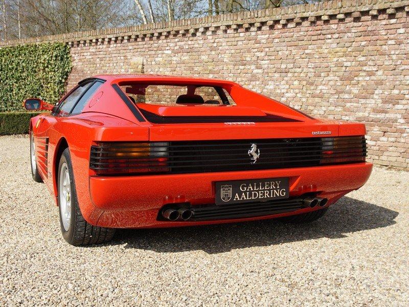 1988 Ferrari Testarossa only 45.000 km For Sale (picture 6 of 6)