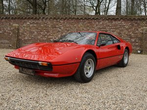 1977 Ferrari 308 GTB Vetroresina dry sump EU version, only 81.154 For Sale