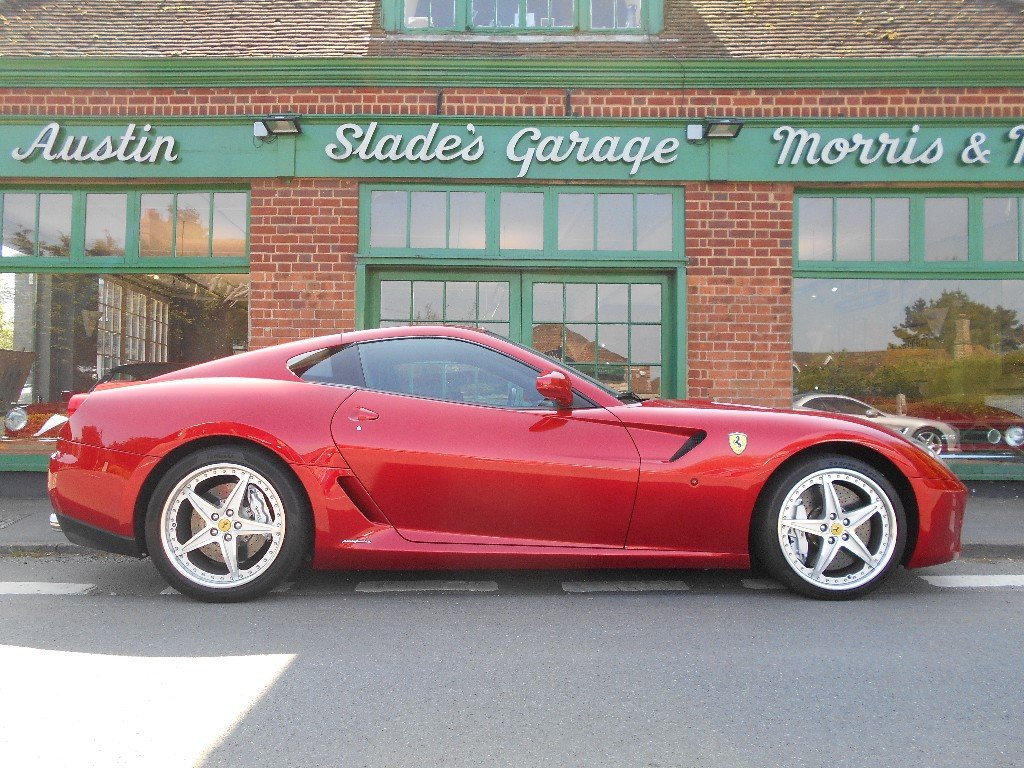 2010 Ferrari 599 GTB Coupe F1 HGTE Handling Pack LHD  For Sale (picture 1 of 4)