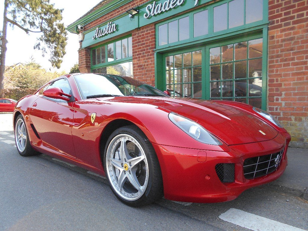 2010 Ferrari 599 GTB Coupe F1 HGTE Handling Pack LHD  For Sale (picture 2 of 4)