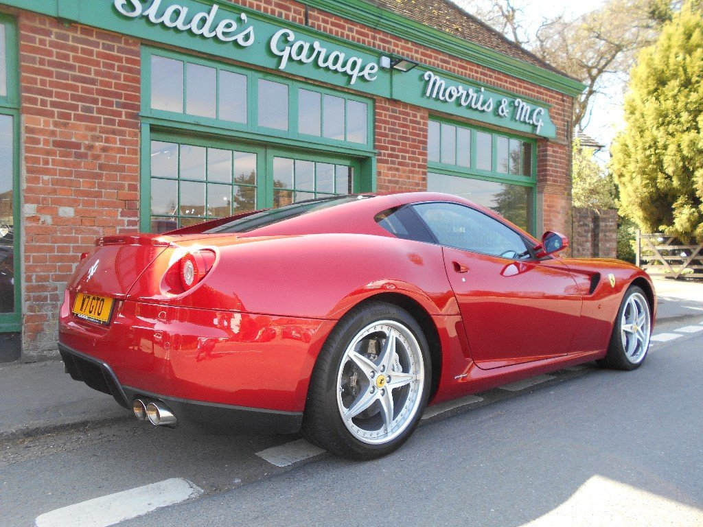 2010 Ferrari 599 GTB Coupe F1 HGTE Handling Pack LHD  For Sale (picture 3 of 4)