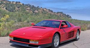 1990 Ferrari Testarossa = low miles only 864 Red  $229k For Sale