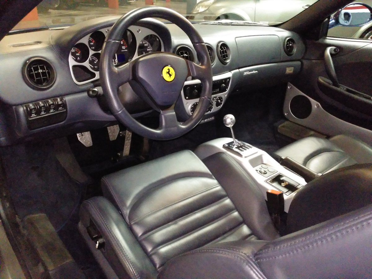 2002 Ferrari - 360 Modena MANUAL For Sale (picture 5 of 6)
