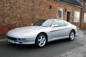 1997 Ferrari 456 GTA RHD, 6,600 miles, FSH and luggage For Sale