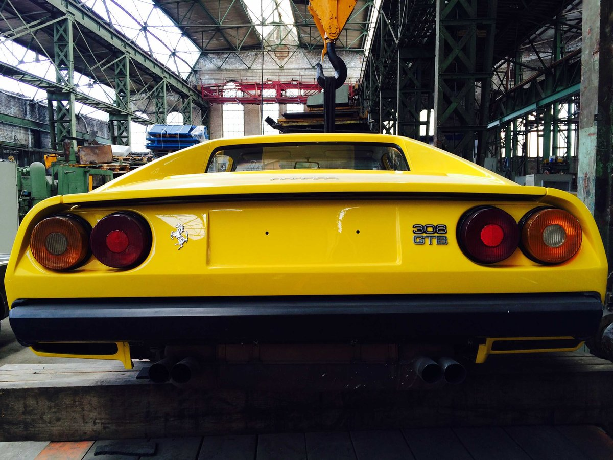 1978 Ferrari 308 GTB in Giallo fly  For Sale (picture 2 of 4)