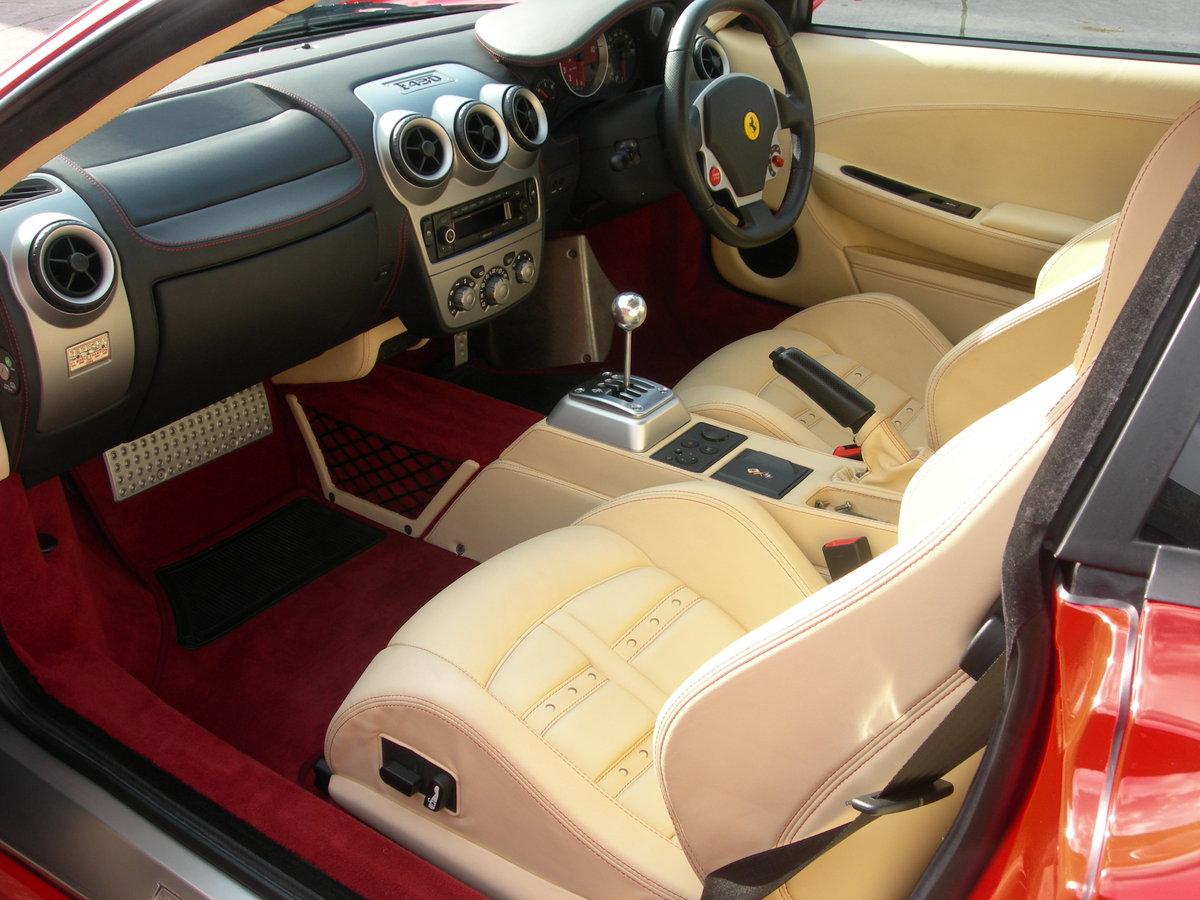 2005 Ferrari F430 Manual 7,000 Miles - RHD For Sale (picture 5 of 6)