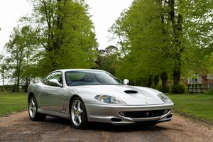 1998 (S) FERRARI 550 MARANELLO - IMMACULATE For Sale