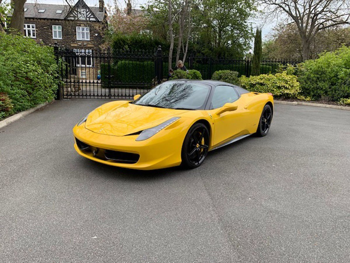 2013 Ferrari 458 Spider For Sale by Auction (picture 1 of 5)