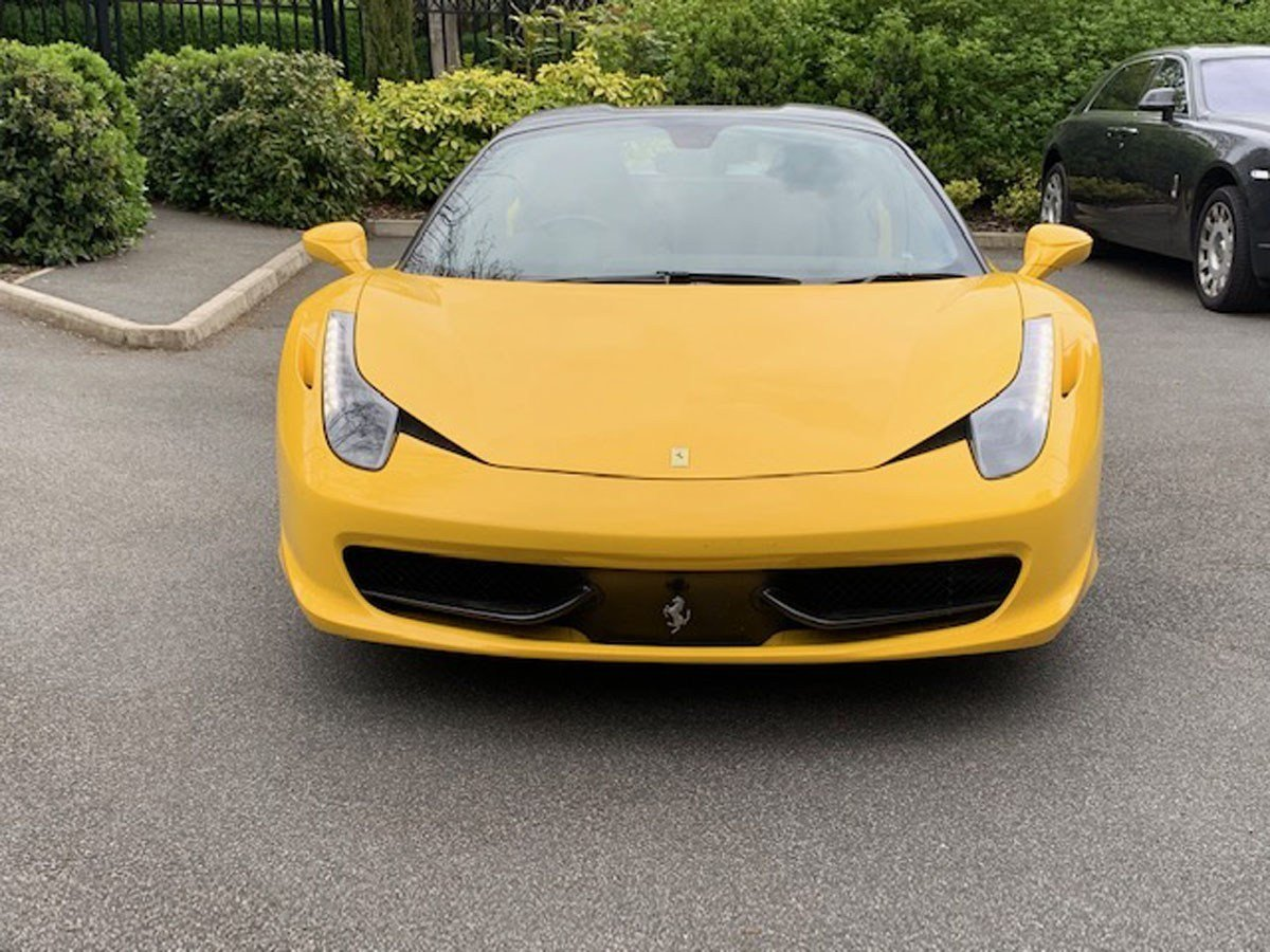 2013 Ferrari 458 Spider For Sale by Auction (picture 5 of 5)
