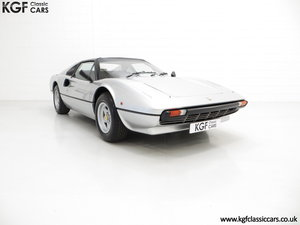 1980 A UK RHD Ferrari 308GTS with 52,458 Miles & Colossal History For Sale