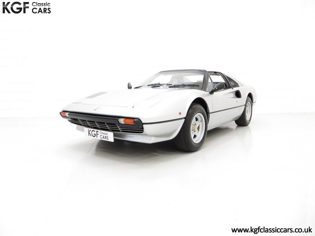 1980 A UK RHD Ferrari 308GTS with 52,458 Miles & Colossal History For Sale (picture 3 of 6)