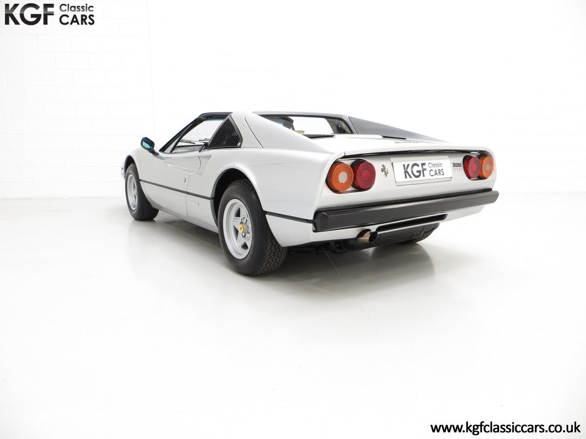 1980 A UK RHD Ferrari 308GTS with 52,458 Miles & Colossal History For Sale (picture 4 of 6)