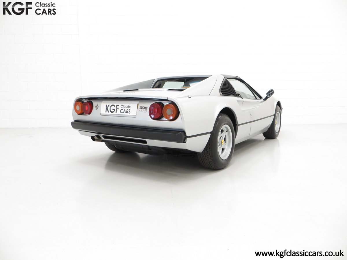 1980 A UK RHD Ferrari 308GTS with 52,458 Miles & Colossal History For Sale (picture 5 of 6)