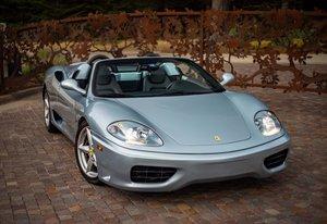 2002 Ferrari 360 Spyder = Manual Blue(~)Black $89.5k For Sale