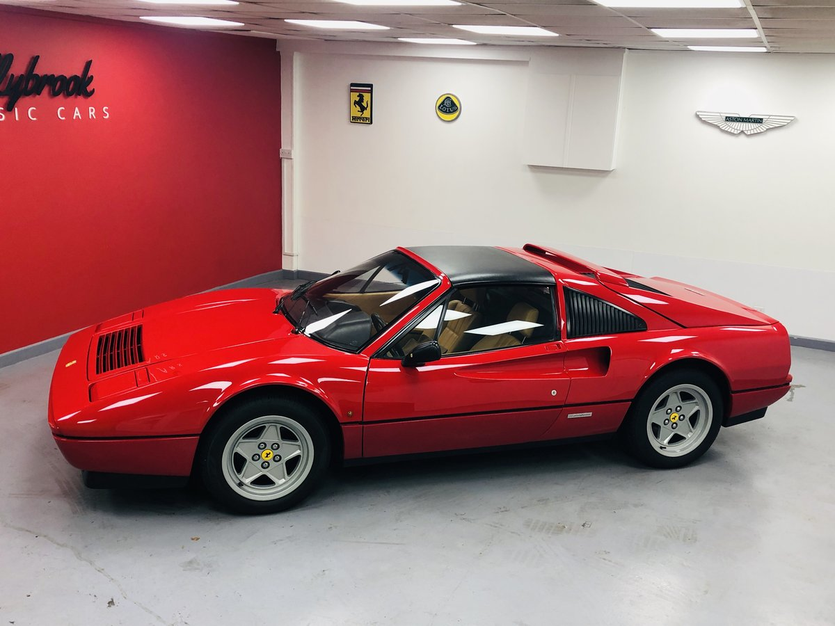 1985 Ferrari 328 GTS LHD (Euro) (Non ABS) only 23000 miles For Sale (picture 1 of 6)