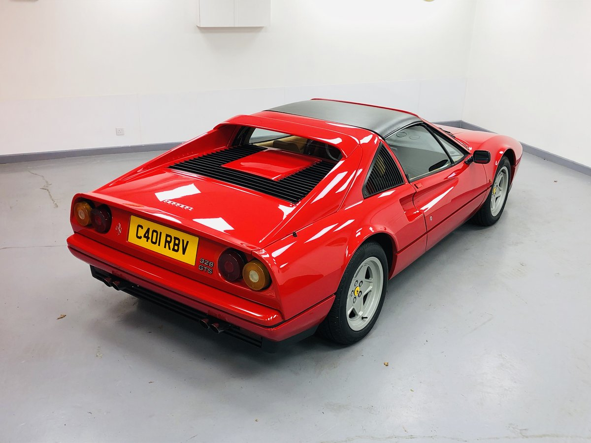1985 Ferrari 328 GTS LHD (Euro) (Non ABS) only 23000 miles For Sale (picture 2 of 6)