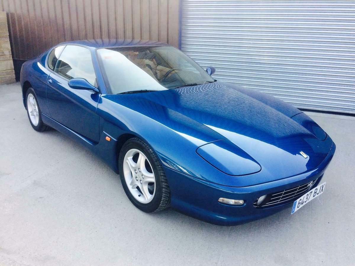 1999 FERRARI 456 456M GTA 33,000 MILES HISTORY LHD EU CAR For Sale (picture 1 of 6)